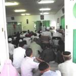 Le khutbah dans la salle de prière
